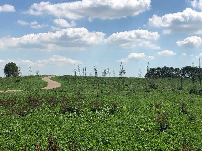 Natuurbegraafplaats Geestmerloo nabij Alkmaar, Noord-Holland