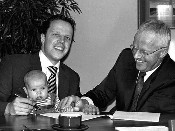 Alexander en Wim van der Pijl