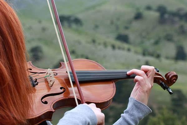 Muziek tijdens uitvaart