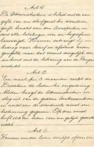 Reglement van de Hoofddorpse Begrafenis Onderneming - pag. 3