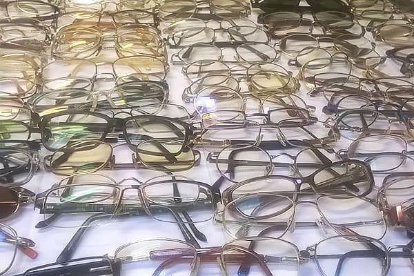 Brillen van overledenen
