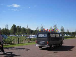 Volkswagen uitvaartbus