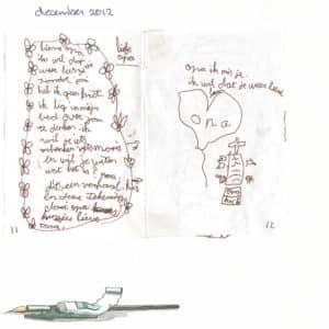 Een brief aan opa in het 'Werkboek over verlies verwerken'