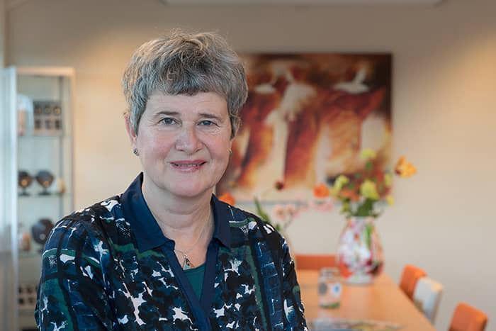 Voorganger Vera Hols uit Lisse