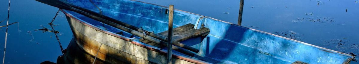 Uitvaart met roeiboot
