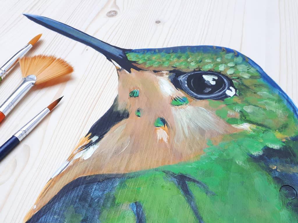Kist beschildering