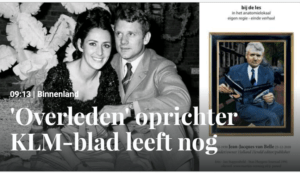 'Overleden' oprichter Holland Herald leeft nog