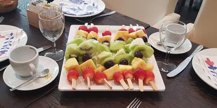 Fruit geeft kleur aan de Brabantse koffietafel