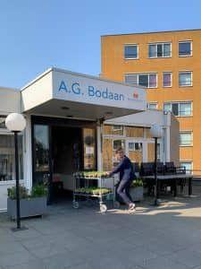 Bloembollen bij Woonzorgcentrum A.G. Bodaan