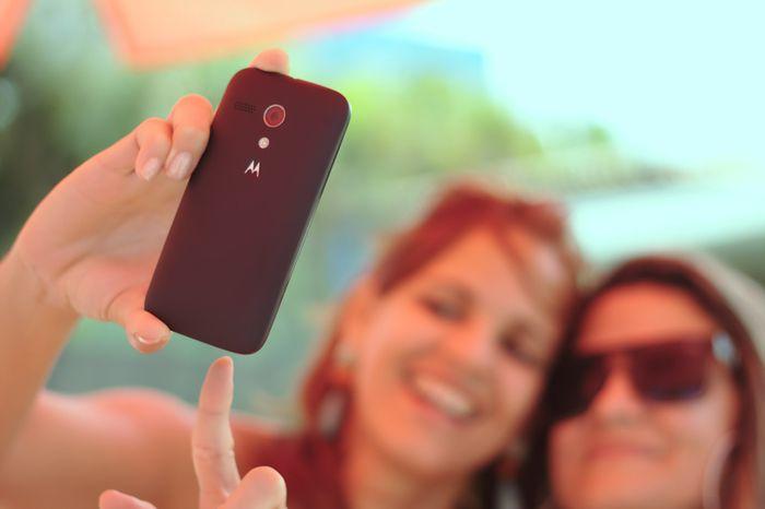 Telefoon vol selfies en ander foto's uit het leven