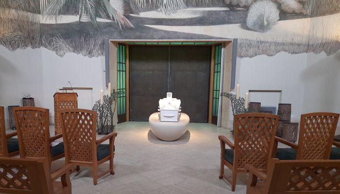 Crematieruimte De Nieuwe Ooster - Stille crematie in witte kist