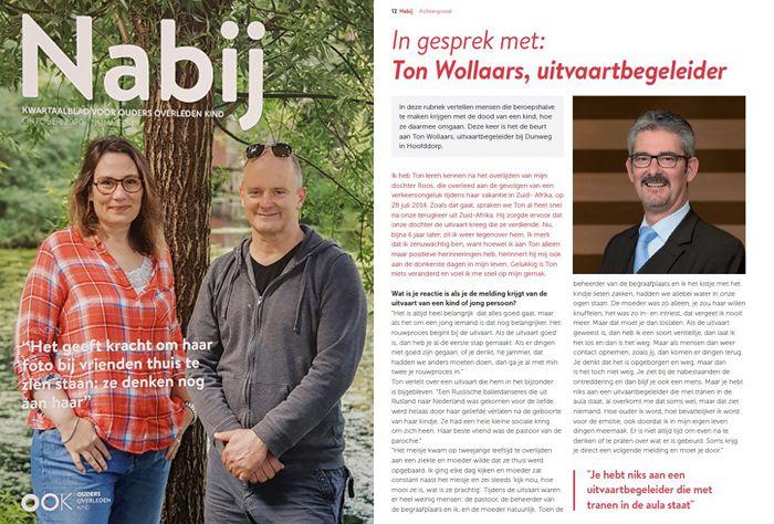 Magazine Nabij - In gesprek met uider Ton Wollaars