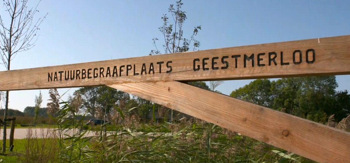 Geestmerloo, natuurbegraafplaats