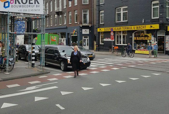 Dunweg in Amsterdam