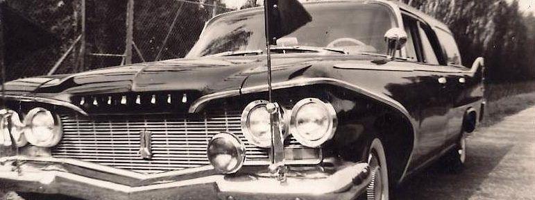 Rouwauto - 110 jaar Dunweg
