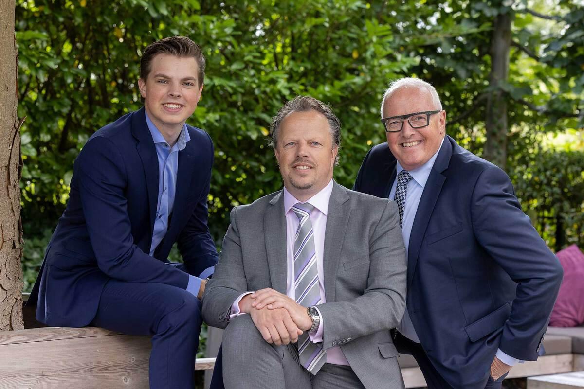 Denzel, Alexander en Wim van der Pijl - Foto: Sven van der Vlugt